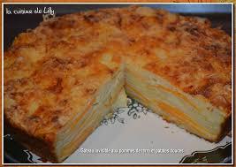 la cuisine de lilly gâteau invisible aux pommes de terre la cuisine de lilly