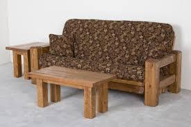 rustic barnwood futon barnwood couch or sofa