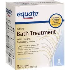 equate calming bath treatment packets 8 count walmart com