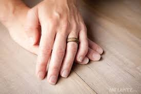 Wood Wedding Rings by Picture Of Cute And Eco Friendly Wood Wedding Rings From Mr Lentz Shop