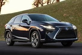 lexus 5 seater suv most reliable 2016 luxury crossovers and suvs 60 000 j d