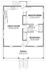 free small house floor plans free house plan no wasted spaces see cottage