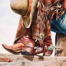 Boot Barn Orange County Big Horn Galleries Presents Original Work Of Artist Nelson Boren