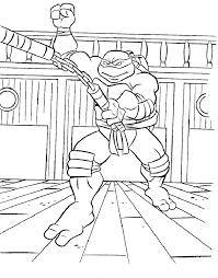 colors teenage mutant ninja turtles coloring
