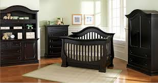 Complete Nursery Furniture Sets Baby Appleseed Davenport Convertible Crib In Espresso