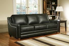 Omnia Savannah Leather Sofa by Blackstone Emporium Inc Blackstone Va