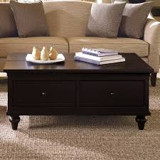 square wood coffee table with storage andrea outloud