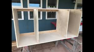 Kitchen Cabinet Carcasses Making Our Kitchen Cabinets Part 1 Carcass Youtube