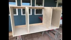 Making Kitchen Cabinets Making Kitchen Cabinets Part 1 Carcass Youtube