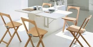 Folding Table On Wall Home Design Folding Dining Table For Small Space Kitchen Wall