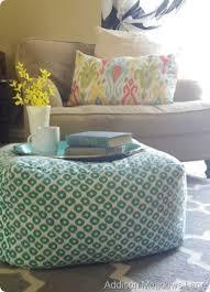 best 25 diy pouf ideas on pinterest couture facile diy ottoman
