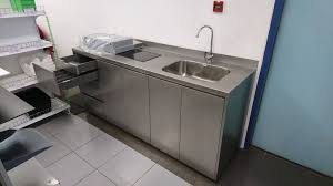 stainless steel kitchen sink cabinet stainless steel kitchen system yew lee metal works pte ltd