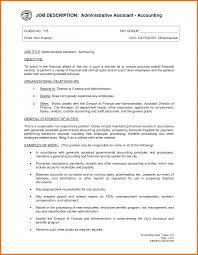 resume sle of accounting clerk job responsibilities duties jobs for resume bartender 529765 restaurant waitress