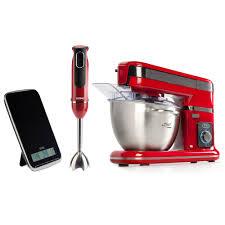 appareil menager cuisine domo ménager avec mixer plongeant et balance acheter en