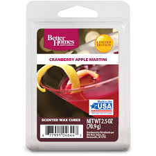 martini cranberry better homes u0026gardens bhg cranberry apple martini wax cubes