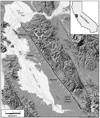 San Francisco Liquefaction Map by A Record Of Large Earthquakes On The Southern Hayward Fault For