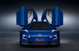 butterfly doors volkswagen xl sport concept debuts at paris motorshow photo