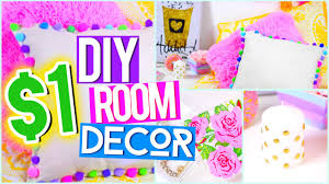 Diy Bedroom Decor by Diy 1 Room Decor Pinterest Inspired Youtube