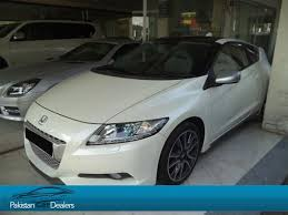 car deals honda pakistan car dealers used car ad of honda cr z from subhani