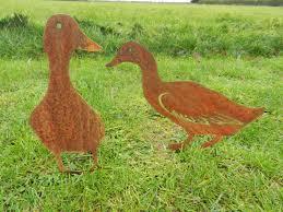 metal duck duck garden metal duck gift duck