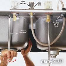kitchen sink water supply lines boxmom decoration