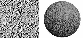 bump map bump map on a sphere