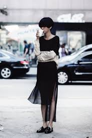 the art of layering sheer clothes for summer street styles
