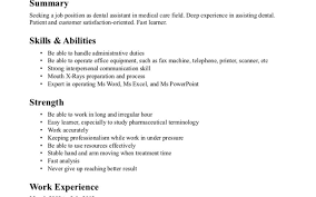 Resume Sample Dental Office Manager by Resume Orthodontist Assistant Virtren Com