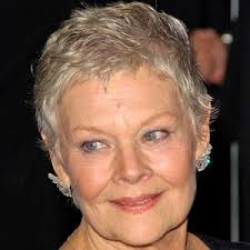 judi dench hairstyle front and back of head judi dench bio facts family famous birthdays