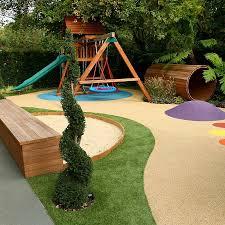 varied and attractive childrens u0027 play area garden design garden