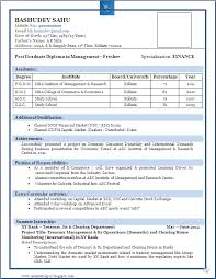 what is the format of a resume best resume format for freshers niveresume resume
