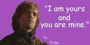 Meme Valentines Cards - 14 hilarious game of thrones valentines cards every fan will want