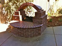 brick outdoor fireplace with graceful outdoor outdoor brick