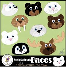 arctic fox clipart arctic seal pencil and in color arctic fox