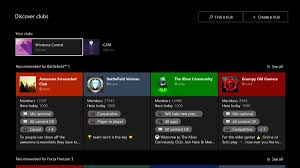 how to join and leave a club on xbox one and windows 10 windows