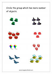 free printable maths worksheets for preschool and kindergarten