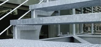 din fã r treppen meiser gitterroste blechprofilroste treppen stahlbearbeitung