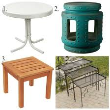 Patio Accent Table Catchy Outdoor Accent Table Outdoor Living Patio Accent Tables