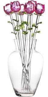 glass roses home essentials 1888p eros bouquet set of 6