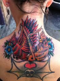neck to shoulder tattoos tattoo hiring librarians