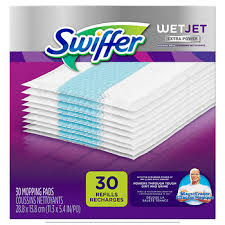 Swiffer Hardwood Floors Swiffer Wetjet Hardwood Floor Spray Mop Pad Refill Power 30
