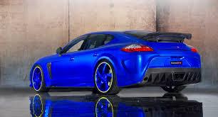 porsche panamera 2015 blue mansory porsche panamera turbo car back of porsche tuning car blue