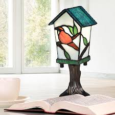 hsn tiffany style lighting dale tiffany bird house tiffany accent l 8556169 hsn