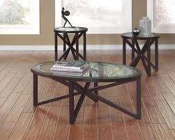 3 Piece Living Room Table Sets Buy Ashley Furniture T291 13 Sleffine 3 Piece Coffee Table Set