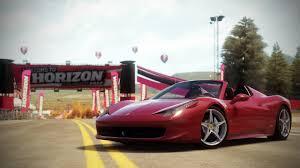 Ferrari 458 Horsepower - forza horizon cars
