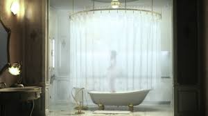 Round Bathtub Shower Curtain For Round Bathtub U2022 Shower Curtain