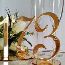gold wedding table numbers wedding table numbers gold on wanelo