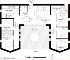 plan de maison plain pied 4 chambres avec garage plan maison plain pied 4 chambres avec suite parentale plans