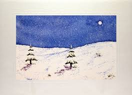 arts and crafts watercolour christmas cards make your own