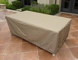 Patio Table Cover Rectangular Or Oval Table Cover 84 L X 44 W X 25 H